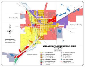 Maps Village Of Loudonville