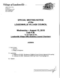 thumbnail of AGENDA SPECIAL MEETING 08152018