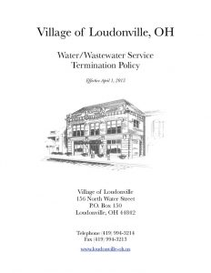 thumbnail of Loudonville Utility Termination Policy 02-04-2013