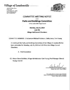 thumbnail of July 15 2019 meeting notice