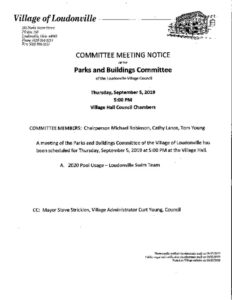 thumbnail of Meeting Notice Sept 5 2019