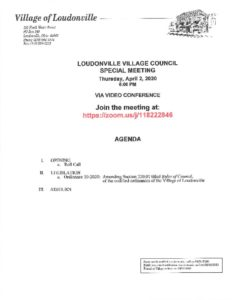 thumbnail of SPECIAL MEETING NOTICE FOR APRIL 2, 2020